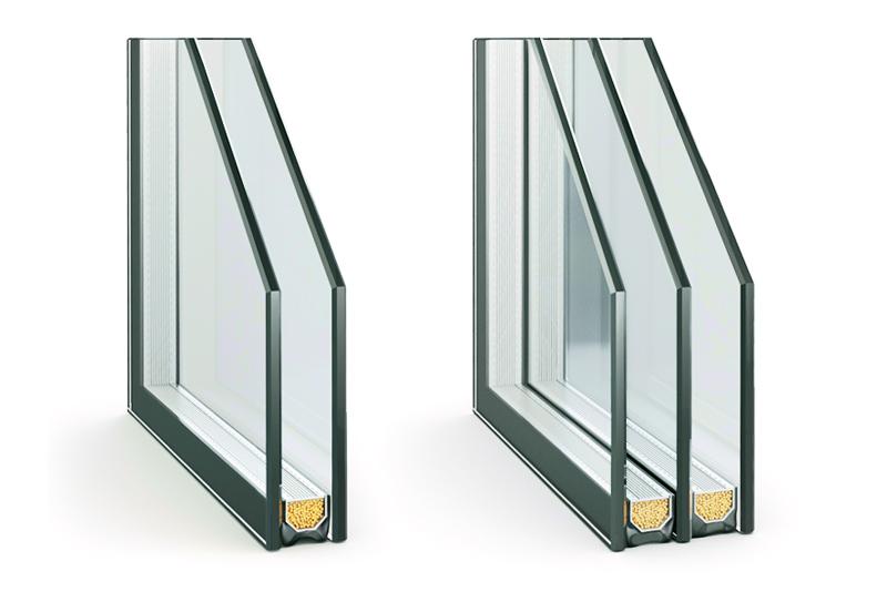 Какие стекла используются в пластиковых окнах?