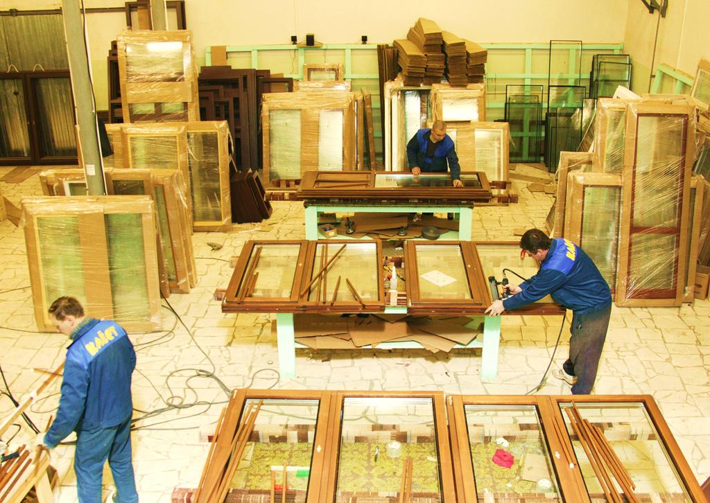 Процесс производства деревянных окон