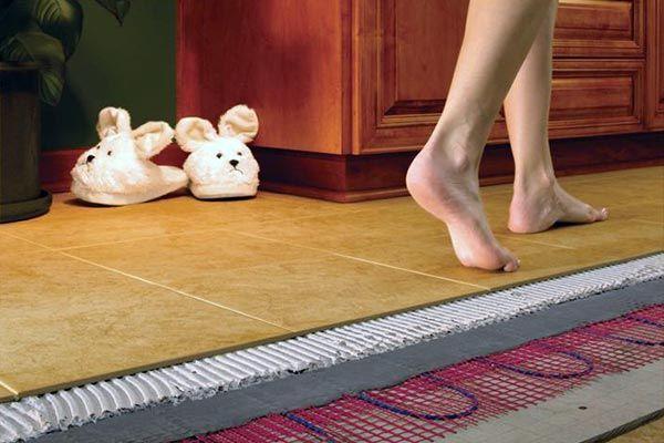 Комфорт в доме обеспечат теплые полы