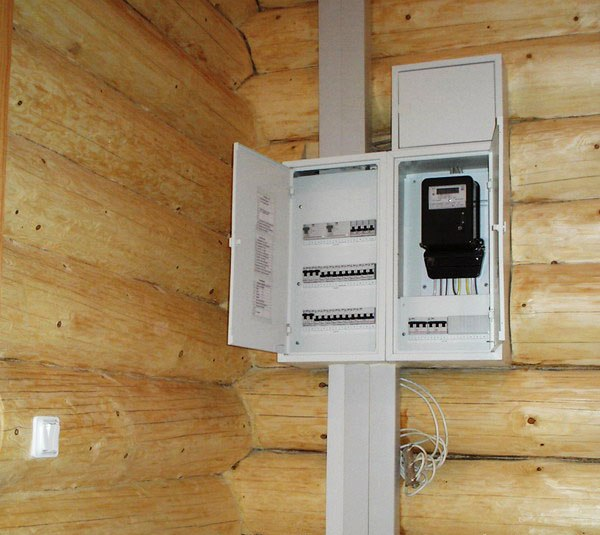 Оборудование, входящее в электрощитовую загородного дома