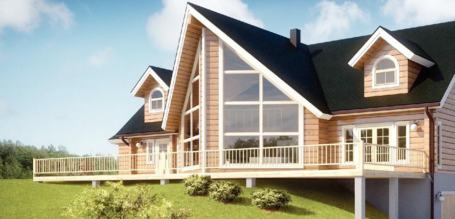 Финские каркасные дома - лучший вариант загородного жилья