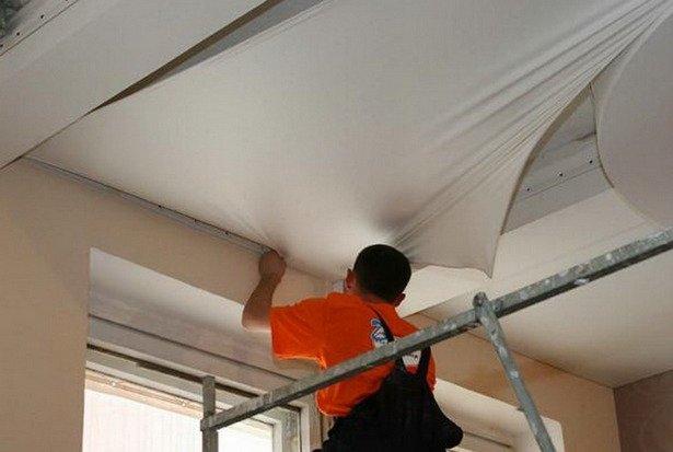Универсальные и практичные натяжные потолки. Продолжение