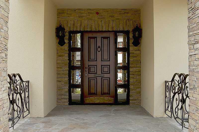 Двери металлические МДФ