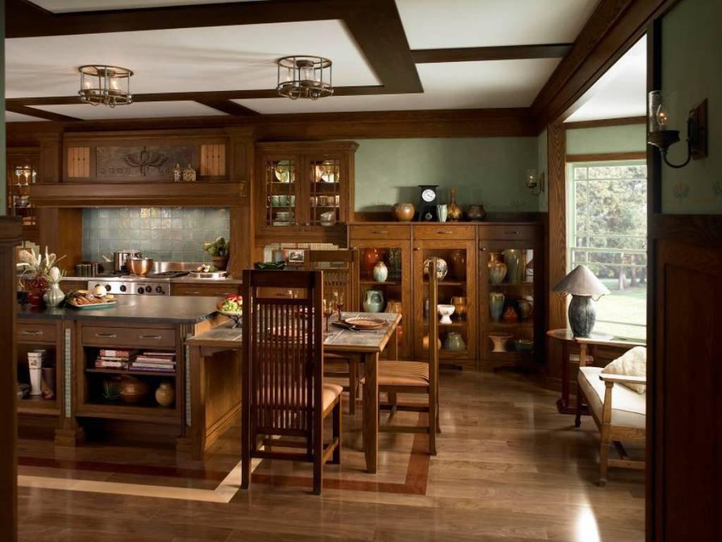 Мебель из массива различных пород древесины