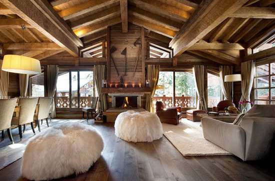 Дизайн загородного домика в стиле шале