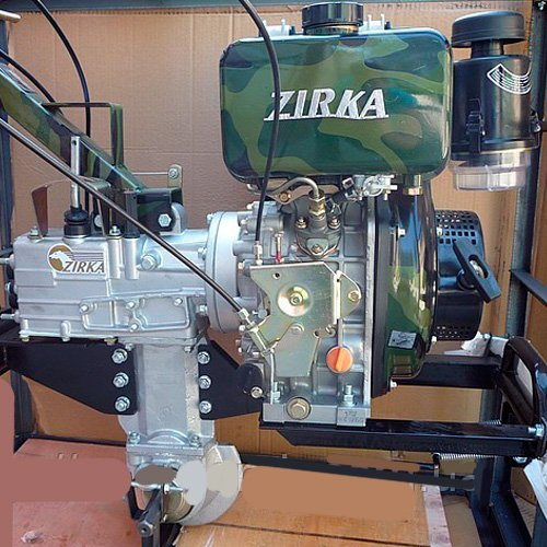Мотоблоки Zirka LX 2060 D и Zirka LX 2060 G