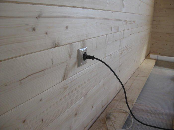 Скрытая проводка в деревянном доме: советы и рекомендации