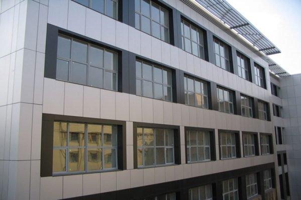 Преимущества навесного фасада