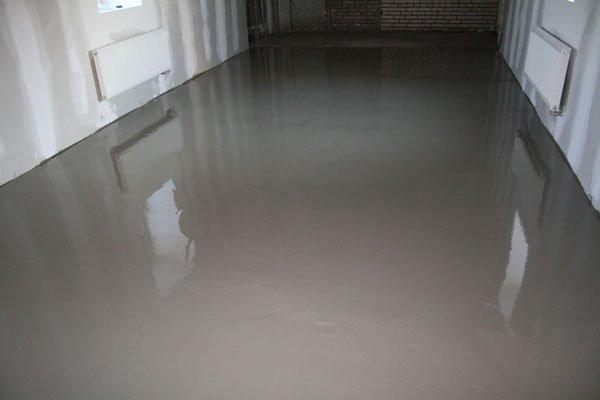 Обеспыливание бетонного основания