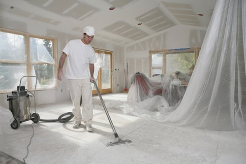 Как убрать дом после ремонта?
