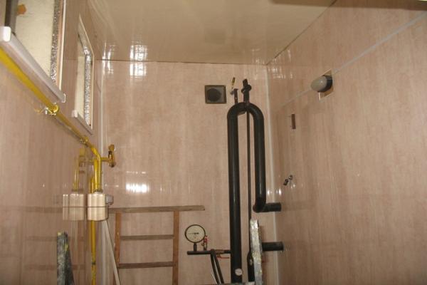 Строительство помещения под котельную