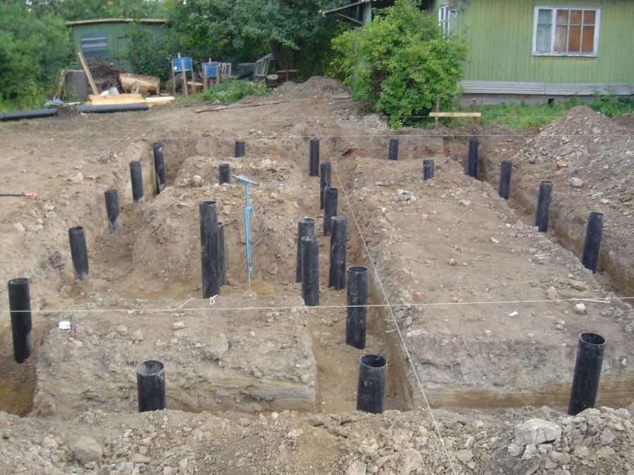 Выбираем фундамент для загородного дома