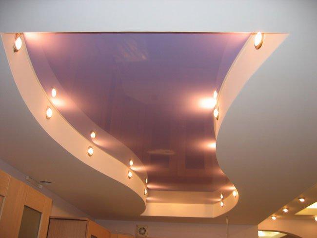 Натяжной потолок в подвальном помещении - надежно и долговечно