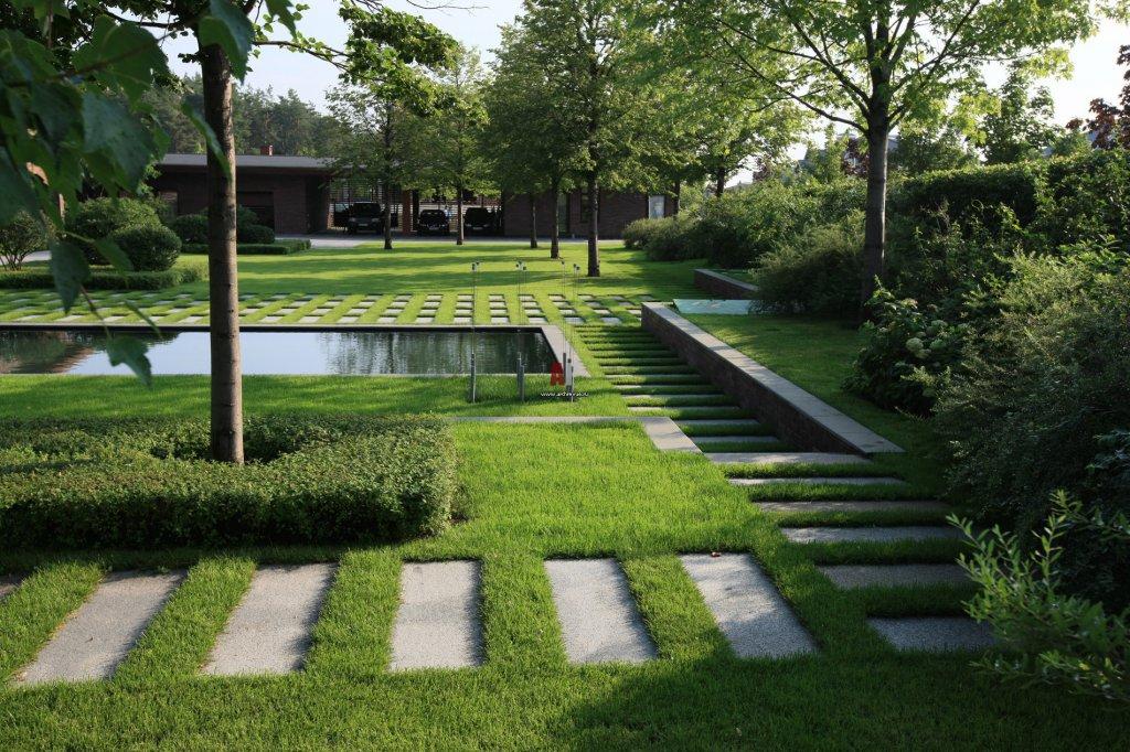 Минимализм в ландшафтном дизайне