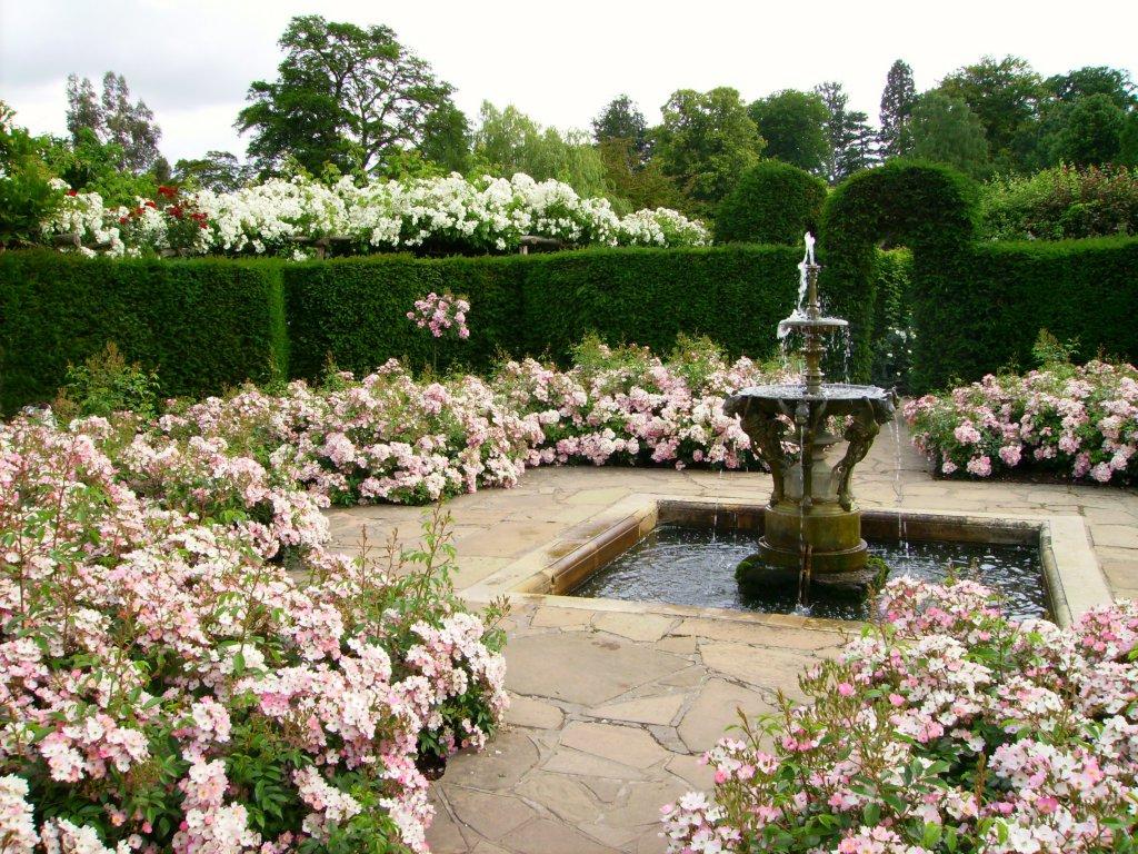 Сад в английском пейзажном стиле