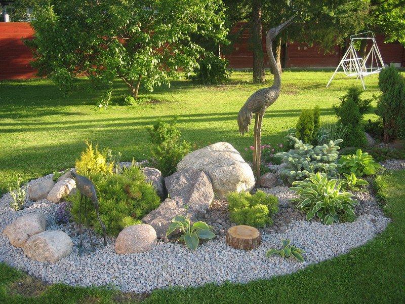 Ландшафтные работы как способ превратить участок в райский уголок