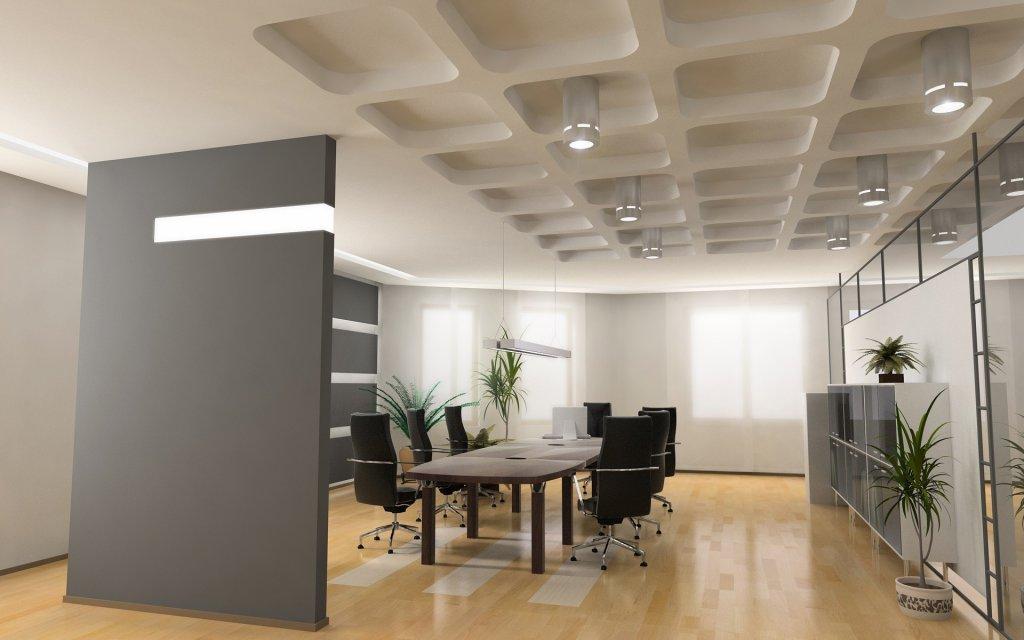 Мебель в интерьере современного офиса