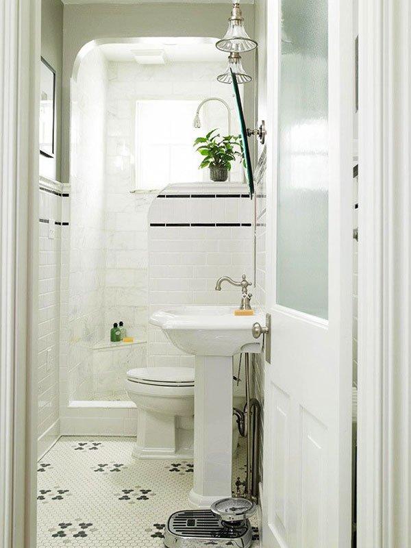 """Создайте """"оазис"""" из вашей маленькой ванной"""