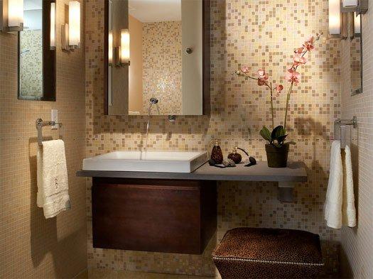 """Создайте """"оазис"""" из вашей маленькой ванной. Продолжение 2"""