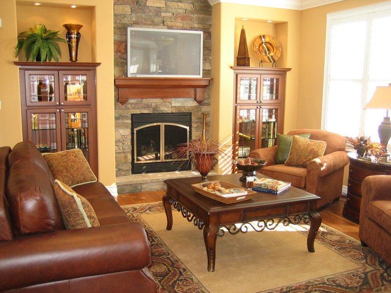 Как обустроить гостиную комнату?