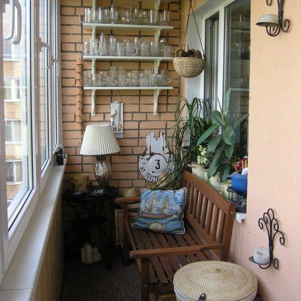 Любимый балкон – для отдыха и развлечений