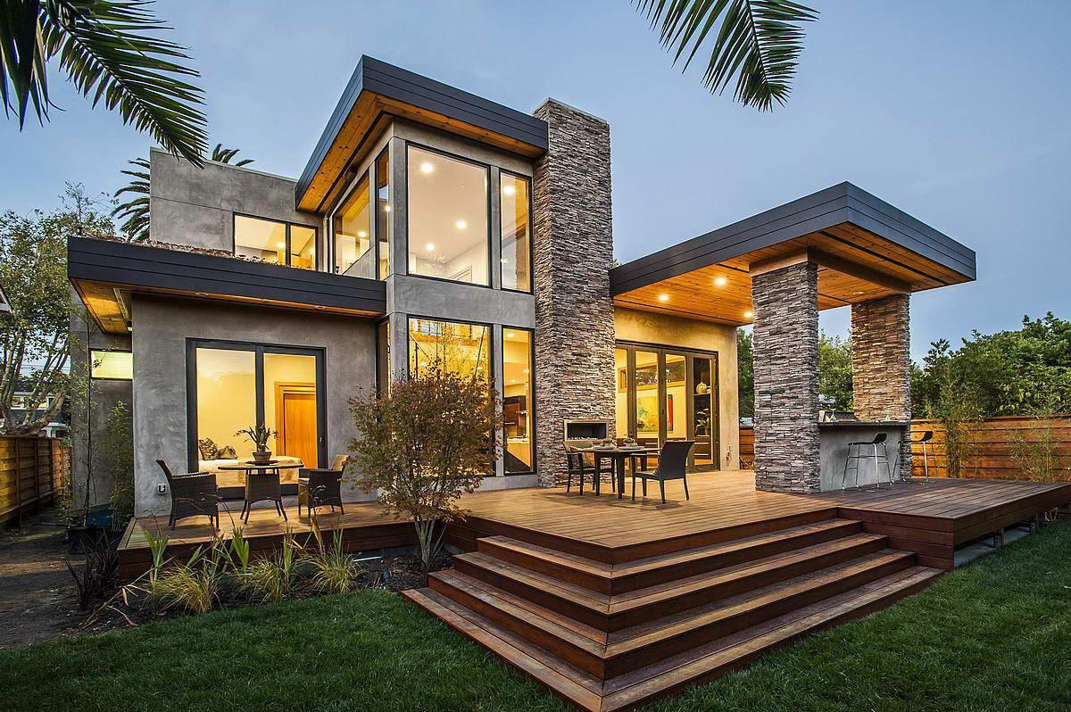 Фасад – лицо загородного дома