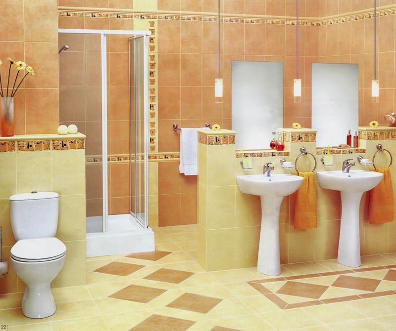 Керамическая плитка в интерьере вашего дома