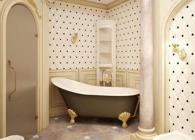Исторические стили в дизайне ванной комнаты