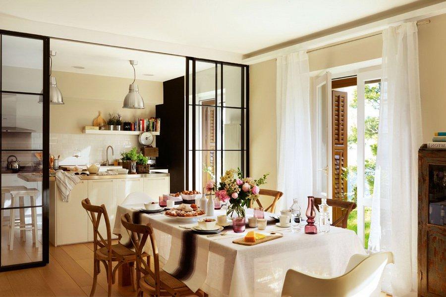 Кухня-столовая - изысканная функциональность в лучших традициях. Продолжение