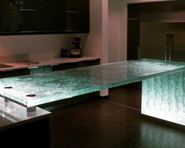 Стеклянная мебель в интерьере вашего дома