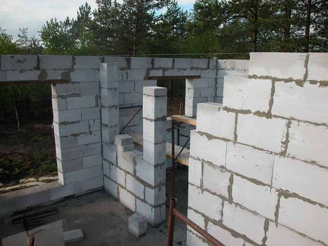 Стоимость строительства из пеноблоков