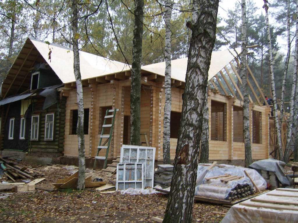 Отремонтировать старый дом
