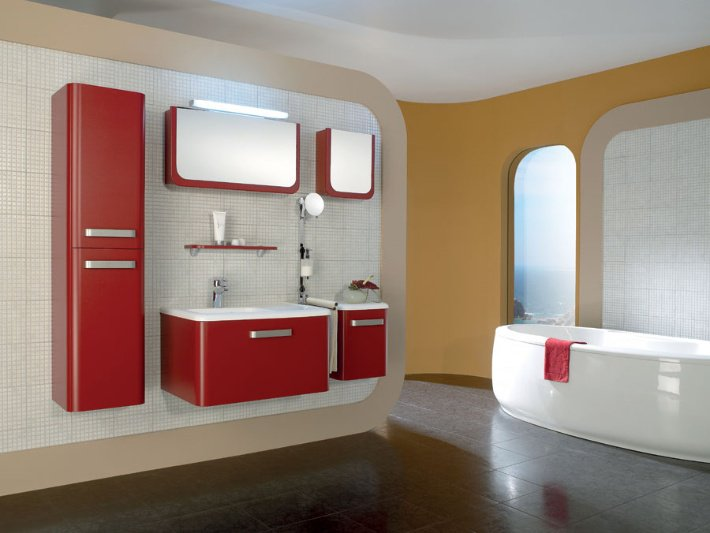 Мебель для ванной комнаты - функциональные особенности