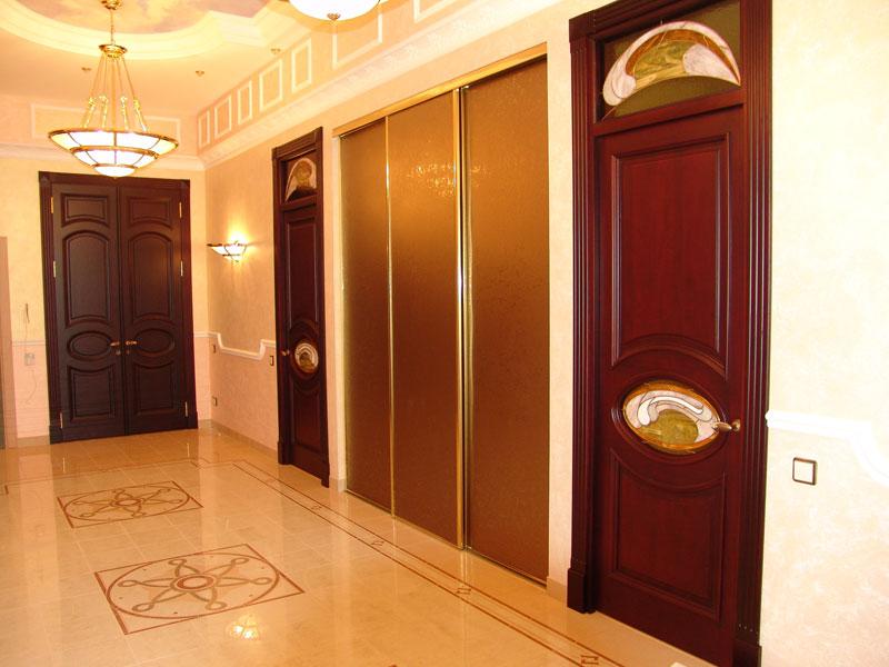 Конструкция межкомнатных дверей