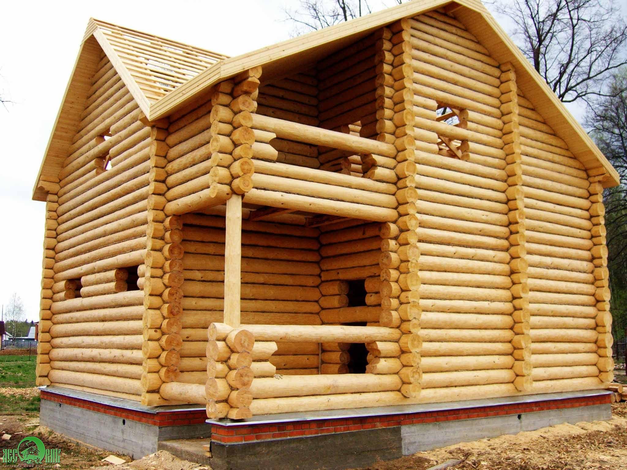 Строительства деревянных бань своими руками описать