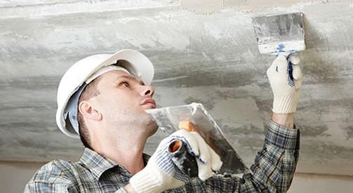 Как быстрее удалить побелку с потолка?