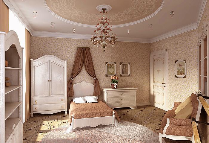 Комната мечты для юной принцессы
