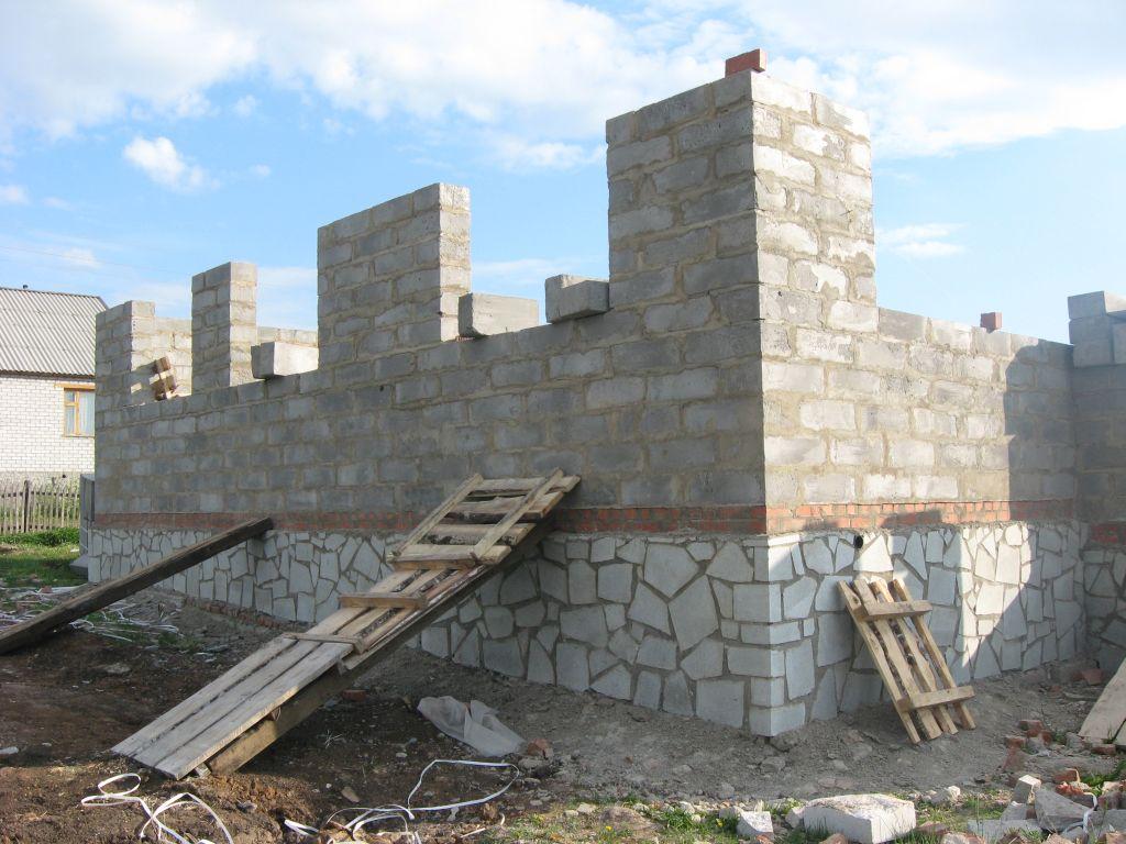 Строим стены Вашего дома
