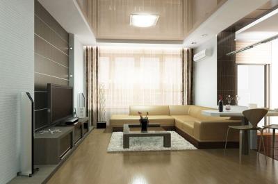 Распространенные способы визуально поднять потолок
