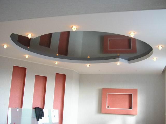 Гипсокартон  - лучший материал для отделки для потолка