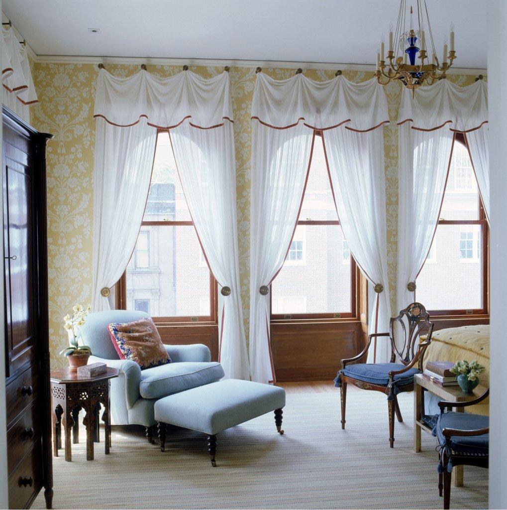 Готовые шторы в интерьере вашей квартиры