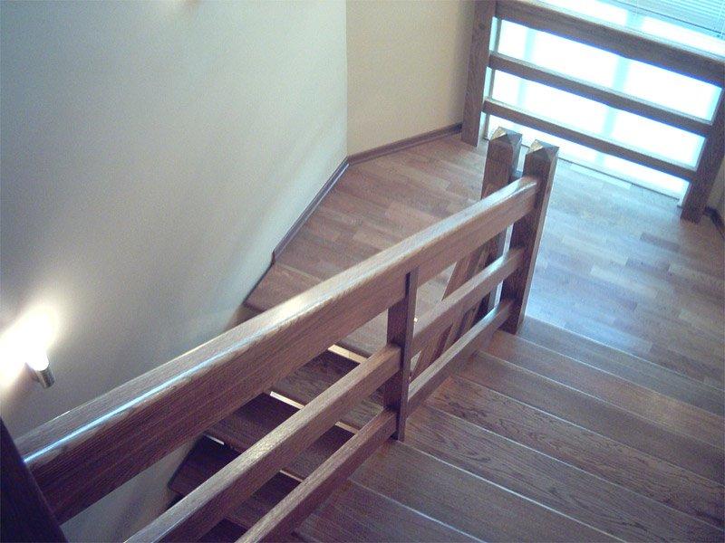 Сделать перила к лестнице своими руками