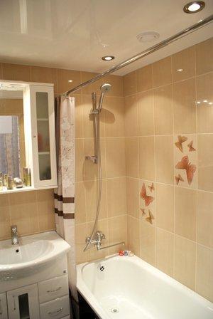 Натяжные потолки для ванной комнаты: надежность и изысканность. Продолжение