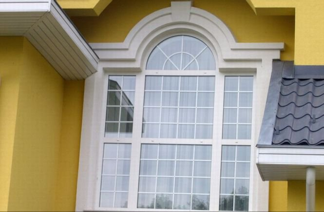Фасадный декор мерлен