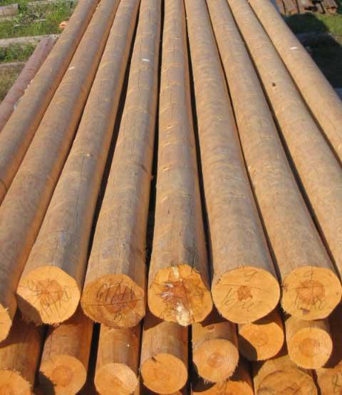 Использование древесины в строительстве