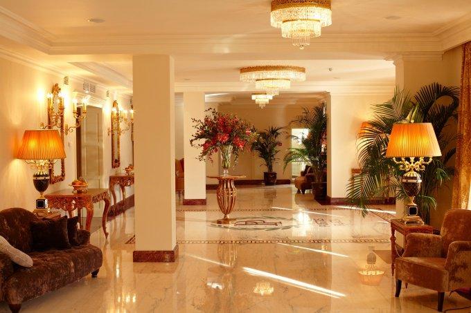 Обустройство интерьера отеля