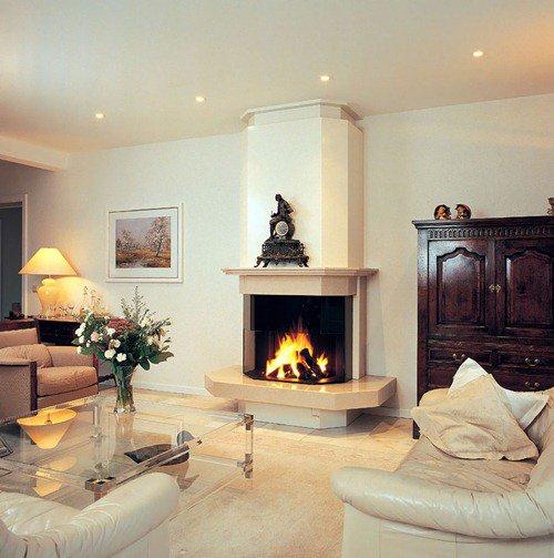 Камины как эффектный и стилистически «влиятельный» элемент квартирного интерьера