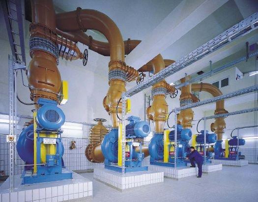 Канализационные и водопроводные насосные станции для промышленных объектов