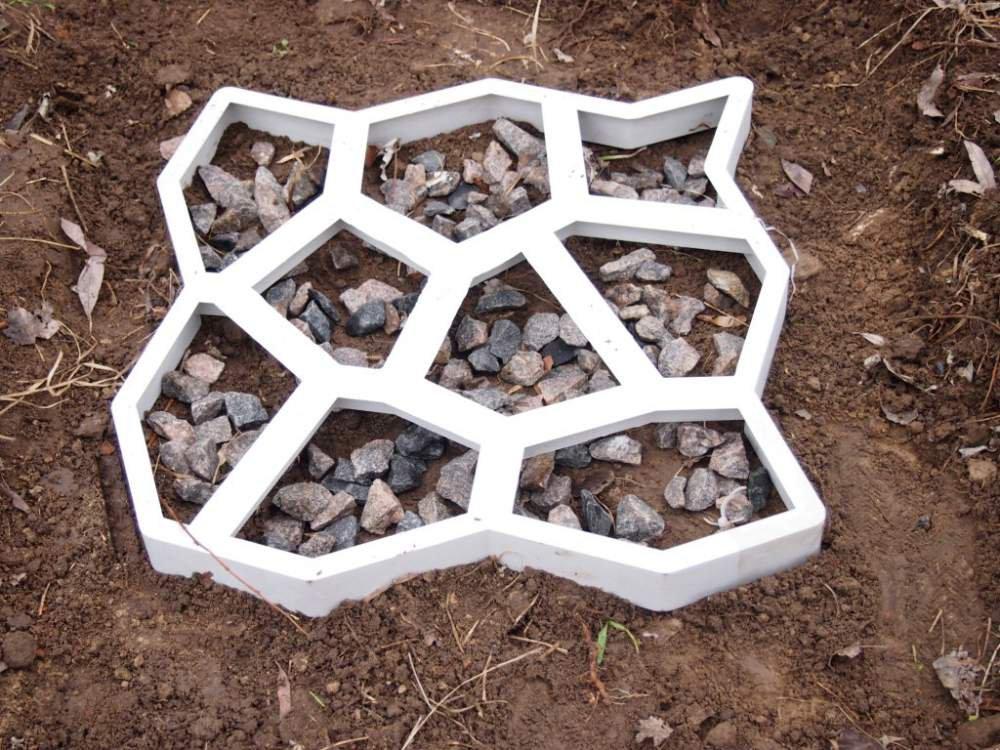 Купить форма для изготовления тротуарной плитКак украсить