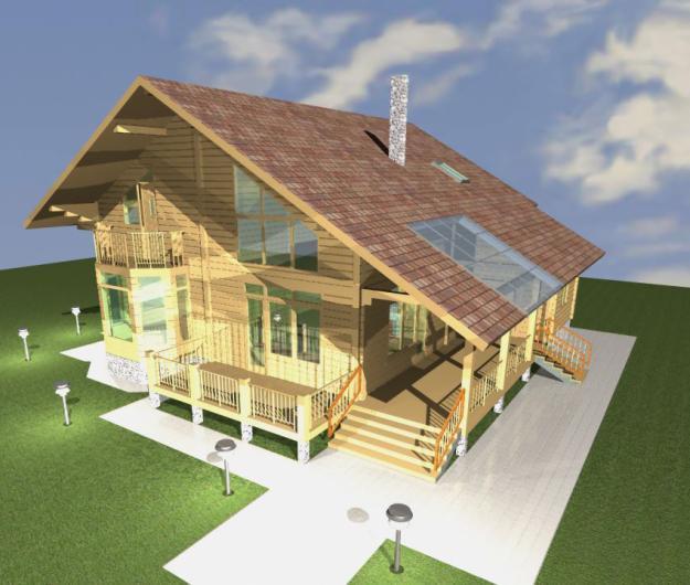 Проект загородного дома – сделать самому или обратиться к профессионалам? Продолжение